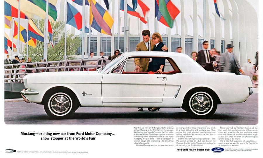 Ford Mustang Turns48