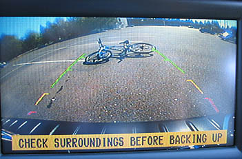 The Backup Camera Screen