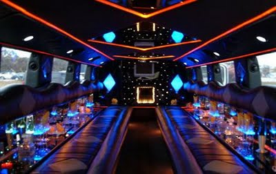 The Mercedes Benz Sprinter Inside of Party Bus