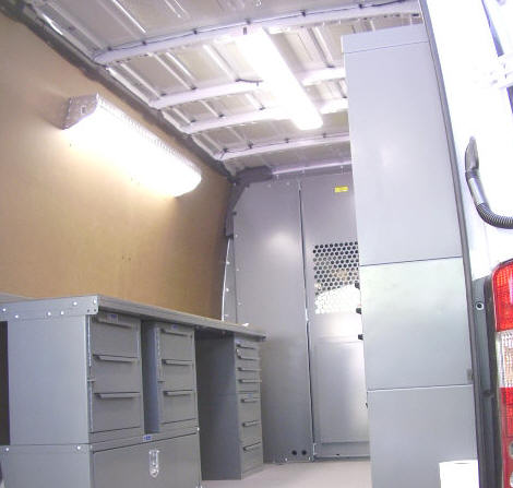The Sprinter Contractor Shelves