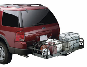 The Trailer Hitch Cargo Carrier