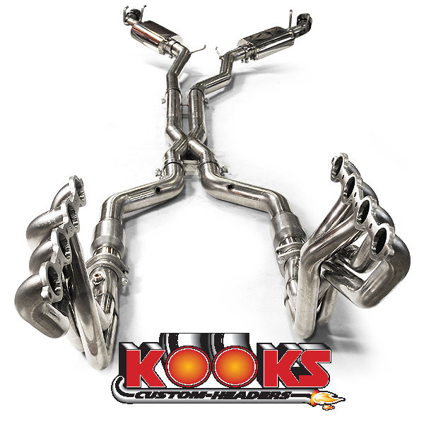 This is the Camaro Kooks Headers