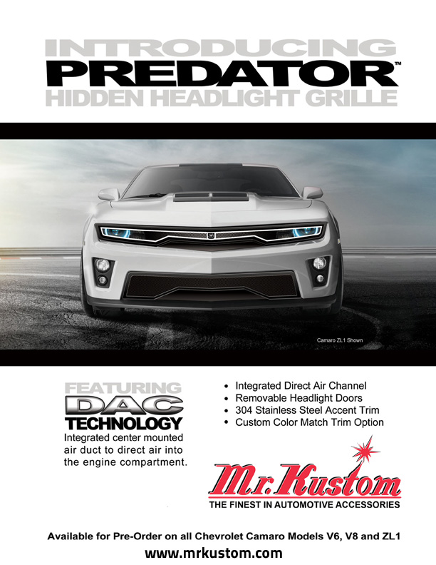 The DJ Grilles Predator Grille