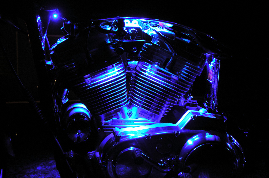 These are the Oracle Motorcycle LED Motor Lights