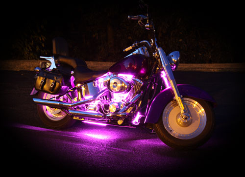 light product motorcycle for illumimoto lighting white lights kit led motorcycles