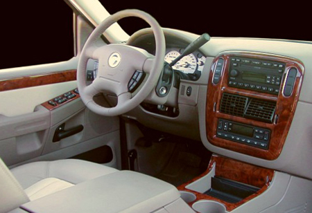 This is the Wood Grain Dash Kit