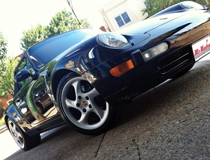 1998 Porsche Carrera 911 993 Alpine CDE-136BT Radio and Rockford Fosgate Amp Installation – Mr. Kustom Chicago
