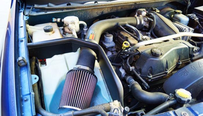 2004 Chevy Trailblazer KN Cold Air Intake