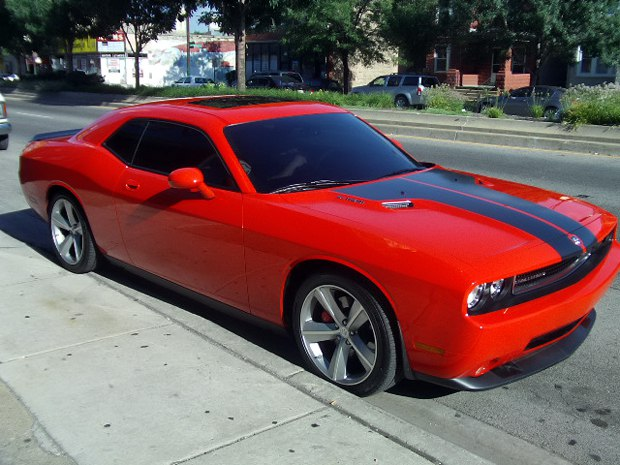 2010 Dodge Challenger SRT8 Racing Stripe and Window Tint – Mr. Kustom Chicago