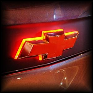 Chevy Illuminated Led Rear Bowtie Mr Kustom Auto