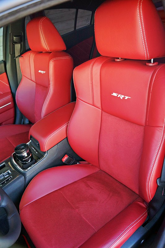 2012 Dodge Charger Srt8 Red Leather Front Seats Mr