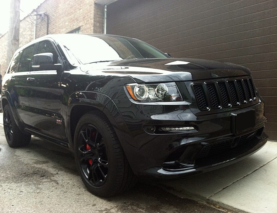 Blacked Out Jeep Grand...