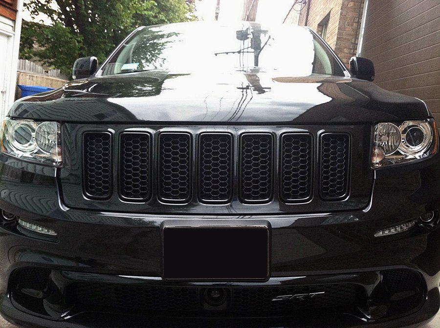 2012 jeep grand cherokee srt8 blacked out mr kustom auto accessories and customizing. Black Bedroom Furniture Sets. Home Design Ideas