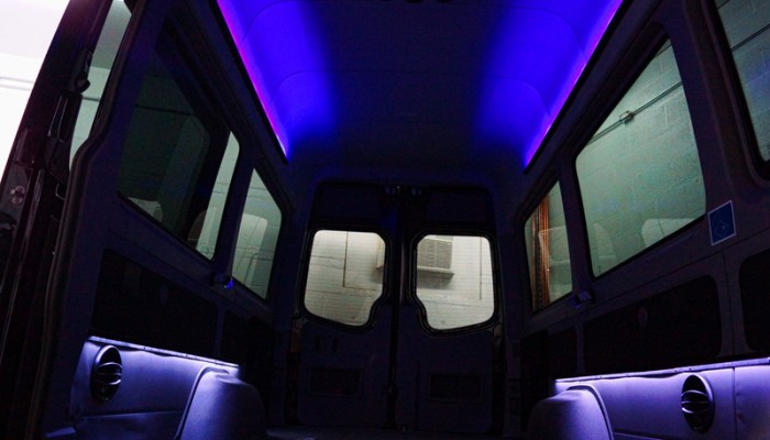 2012MercedesBenzSprinterVanBlueLEDLighting