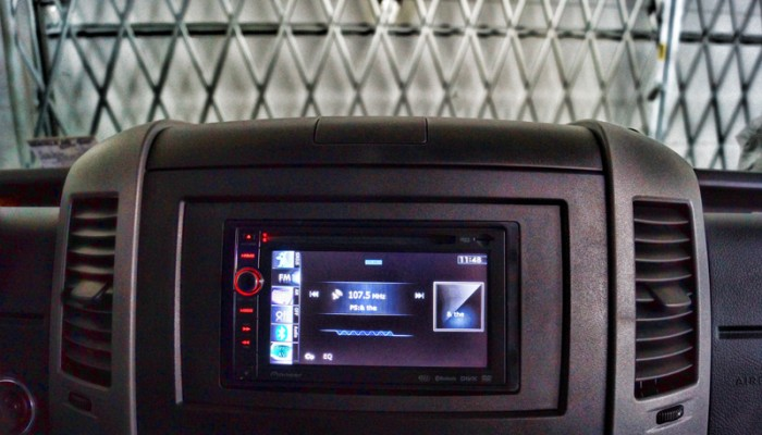 2012MercedesBenzSprinterVanPioneerNavigationRadio