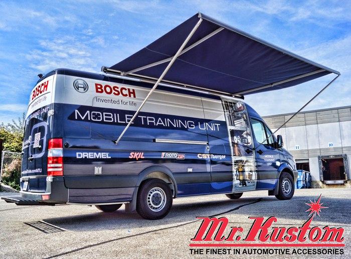 2012 Mercedes Sprinter Van Bosch Tools Mr Kustom Auto
