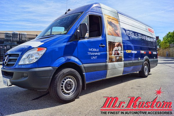 2012 Mercedes Sprinter Van Bosch Tools