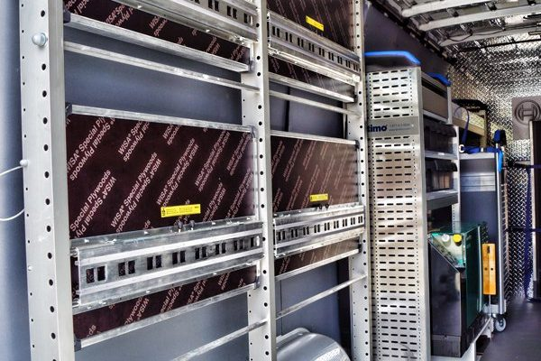 2012MercedesSprinterVanBoschToolsShelving