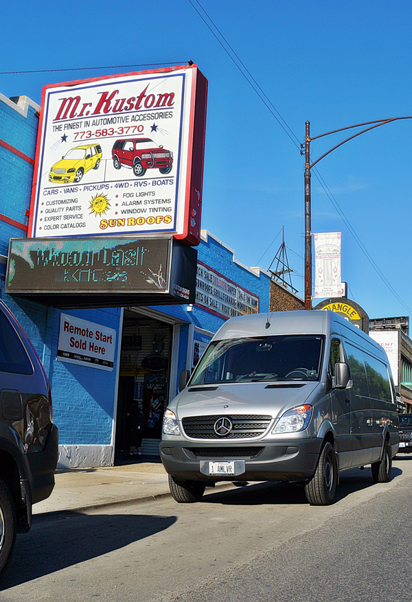 2012 Mercedes Sprinter Can Rear Air Conditioning Unit Exhaust Fans Backup Camera