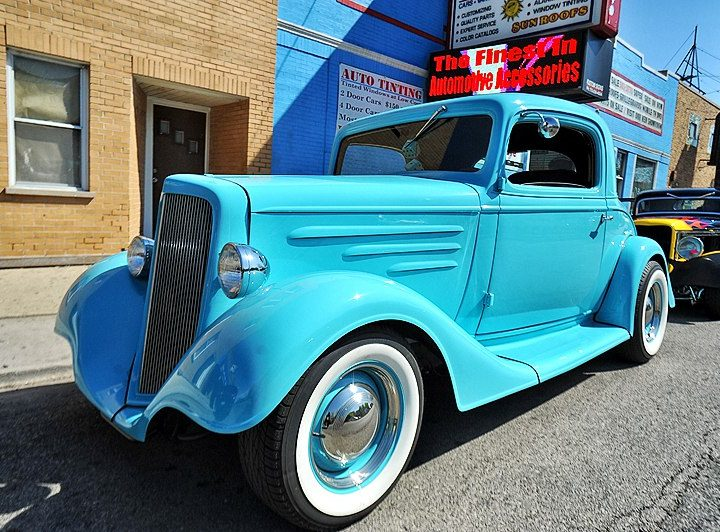 1935 Chevy Coupe Restored – Mr. Kustom Chicago