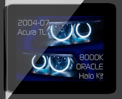 Acura TL Oracle Halo Headlights Kit - Acura tl halo headlights