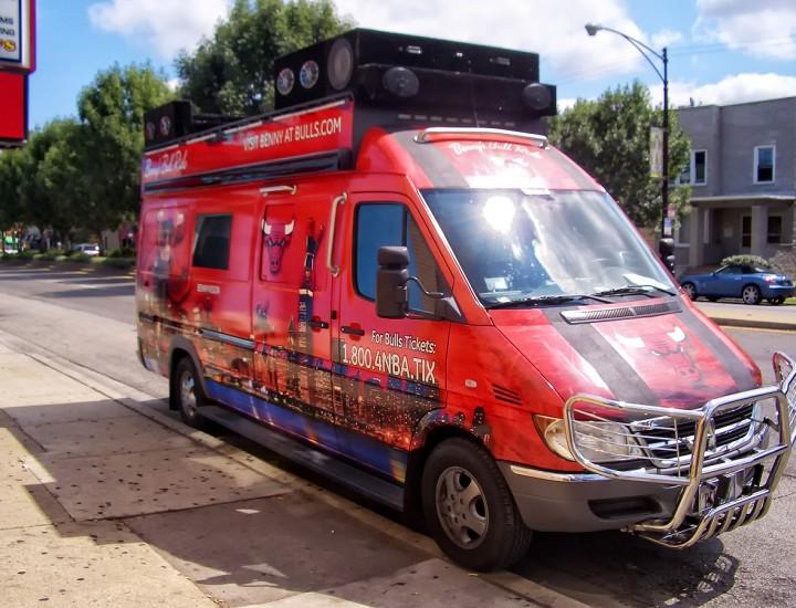 Chicago Bulls Benny The Bull Sprinter Van Conversion – Mr. Kustom Chicago