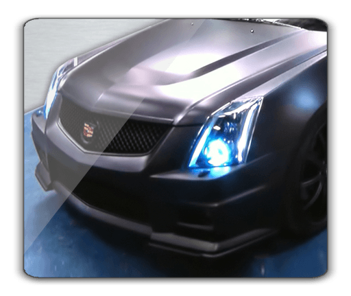 Cadillac CTS-V Oracle Halo Headlights Kit 2010-2012