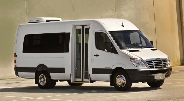 Custom Mercedes Benz Sprinter Van Conversion