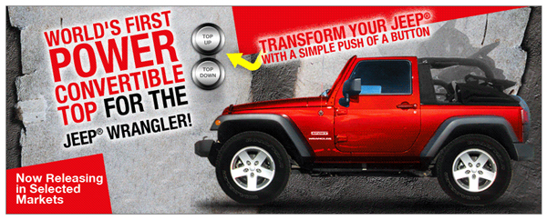 This is the Jeep Wrangler Convertible Top