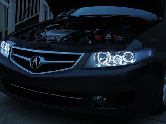 Acura Tsx For Sale >> Acura TSX Oracle White Halo Headlights Kit 2004-2007