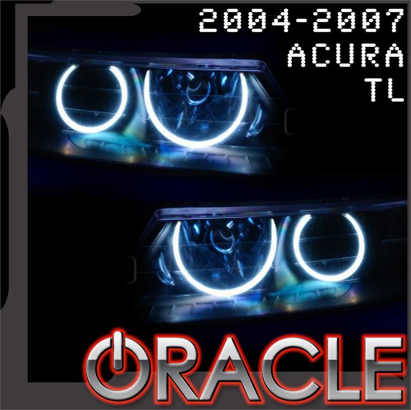 Acura Tsx Oracle White Halo Headlights Kit 2004 2007