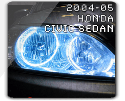 2004-'05 Honda Civic Sedan ORACLE Halo Kit