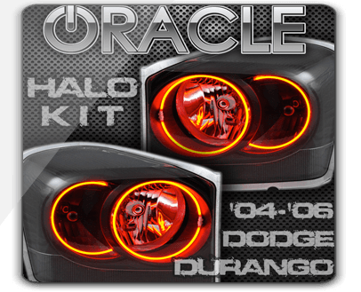 2004 06 Dodge Durango Oracle Led Halo Kit