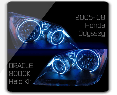 2005 08 Honda Odyssey Oracle Headlight Halo Kit