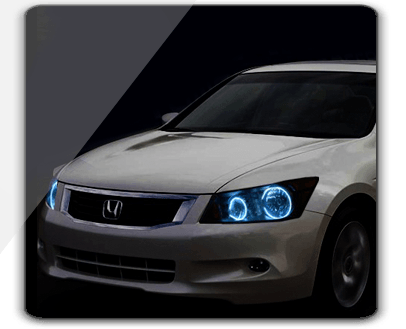 Honda Accord Sedan Oracle Halo Headlights Kit 2008 2012