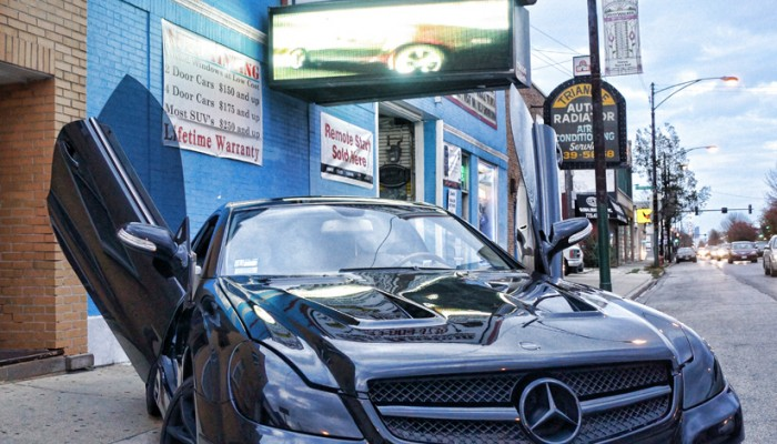 2008 Mercedes Benz SL500 Lambo Doors Chicago
