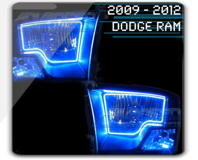 Halo Headlights 2012 Dodge Ram 2009-2012-dodge-ram-smd-halo