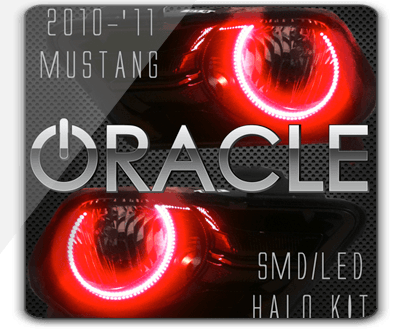 2010-'12 Ford Mustang ORACLE Halo Kit