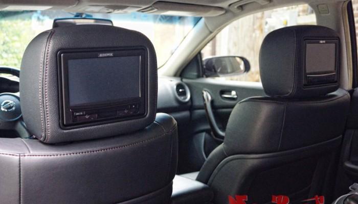 2010 Maxima Custom Audiovox Headrest Monitors