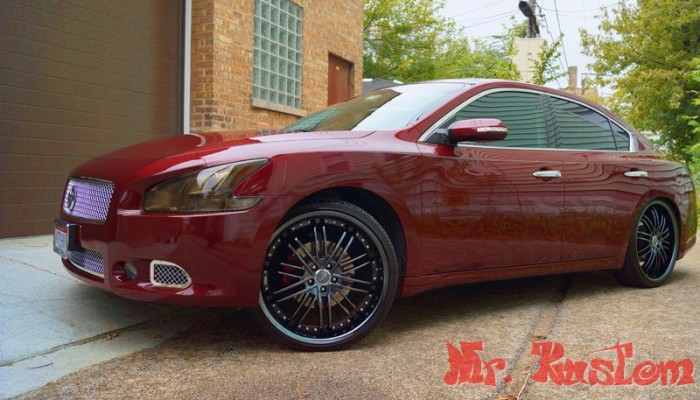 2010 Maxima Custom Wheels Chicago
