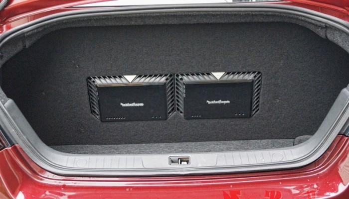 2010 Maxima Rockford Fosgate Amps