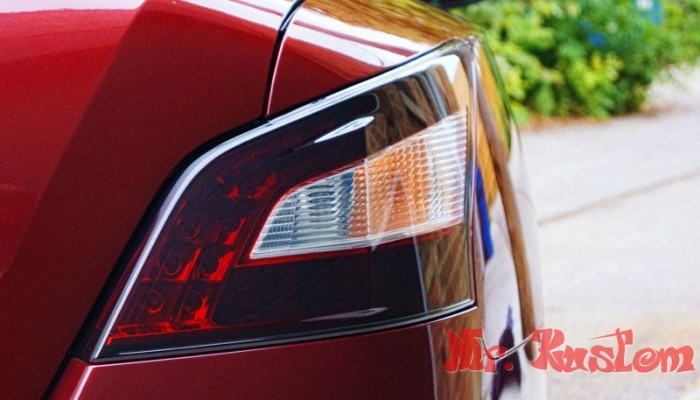 2010 Maxima Smoked Tail Light