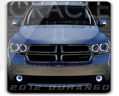 dodge durango oracle halo headlights kit 2011 2013. Black Bedroom Furniture Sets. Home Design Ideas