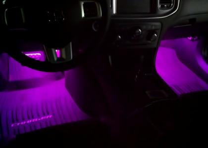 purple car interior lights. Black Bedroom Furniture Sets. Home Design Ideas