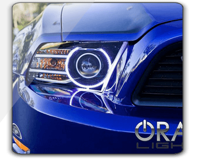 Ford Mustang Oracle Halo Headlights Kit 2013