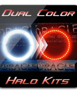 DUAL COLOR Dodge Charger Headlight Halo Kit