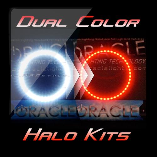DUAL COLOR Dodge Charger Headlight Halo Kit