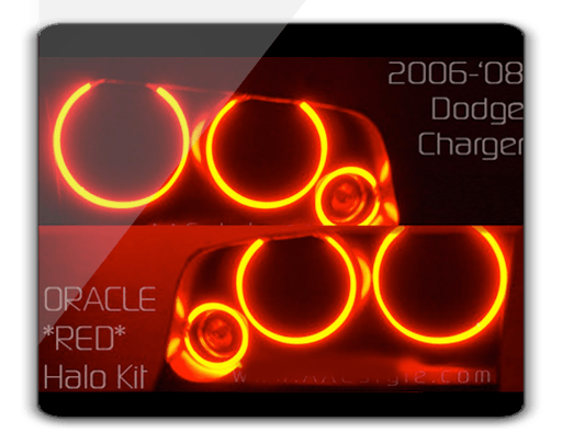 Dodge Charger Red Lights Dodge-charger-red-oracle-brand