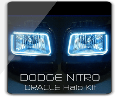 Dodge NITRO 8000K ORACLE Brand Halo Kit