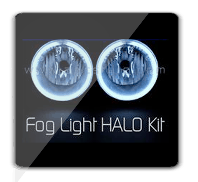 Dodge RAM ORACLE Fog Light Halo Kit